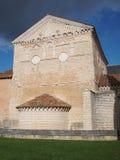 Battistero del John del san, Poitiers, Francia. Fotografia Stock Libera da Diritti