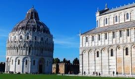 Battistero della st John Battistero di Pisa a Pisa, Italia immagine stock libera da diritti