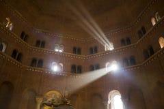 Battistero di Cremona immagini stock