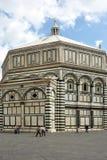 Battistero di Florenze - l'Italia fotografia stock