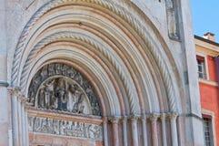 Battistero di Parma. L'Emilia Romagna. L'Italia. Immagini Stock