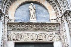 Battistero di Pisa Fotografie Stock Libere da Diritti