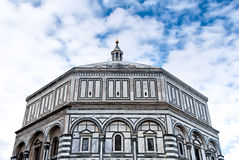 Battistero di S Giovanni Firenze, Tuscany, Italien Arkivbild