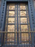 Battistero. Di San Giovanni door in Florence, Italy Stock Photography