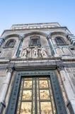 Battistero Di San Giovanni in Florence, Italië Royalty-vrije Stock Afbeeldingen