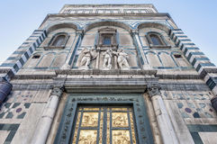 Battistero Di San Giovanni in Florence, Italië Royalty-vrije Stock Afbeelding