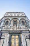 Battistero Di San Giovanni in Florence, Italië Stock Afbeelding