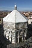 Battistero Di San Giovanni, in Florence, Italië Royalty-vrije Stock Afbeelding