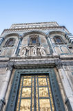 The Battistero di San Giovanni in Florence, Italy Royalty Free Stock Images