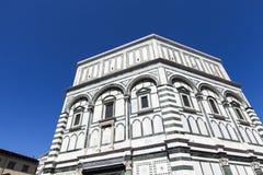 Battistero Di San Giovanni w Florencja Zdjęcie Royalty Free