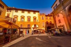 Battistero e duomo, quadrato a Firenze, Italia immagini stock