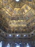 Battistero, Florence (Italië) Royalty-vrije Stock Afbeeldingen