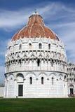 Battistero Pisa #1 Fotografie Stock Libere da Diritti