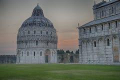 Battistero (Pisa) Imagen de archivo libre de regalías