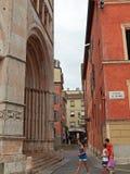 Battisterodi Parma, in Emilia-Romagna Italië Royalty-vrije Stock Afbeelding
