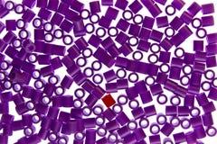Battiti della plastica Fotografia Stock