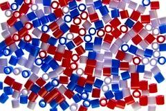 Battiti variopinti della plastica Immagini Stock Libere da Diritti
