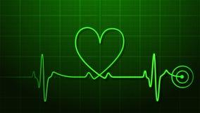 Battito cardiaco Fotografie Stock Libere da Diritti