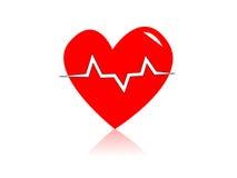 Battito cardiaco Fotografia Stock