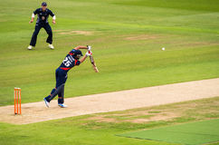 Battitore della partita del cricket T20 Immagini Stock