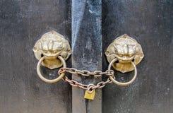 Battitore di porta cinese Fotografia Stock