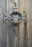 Vecchio battitore di porta Fotografie Stock Libere da Diritti