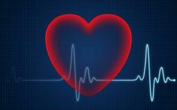 Battitura del cuore Fotografie Stock Libere da Diritti