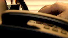 Battitura a macchina del computer portatile Immagini Stock Libere da Diritti