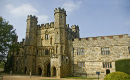Battle Abbey. Built on the Site of the Battle of Hastings in Sussex England Royalty Free Stock Photos