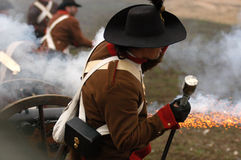 Battle at Austerlitz Stock Images