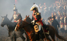 Battle at Austerlitz 2009 Royalty Free Stock Image