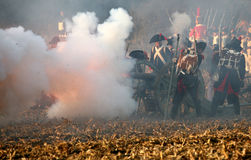 Battle at Austerlitz 2009 Royalty Free Stock Photography