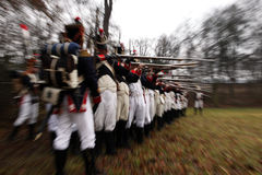 The Battle of Austerlitz Royalty Free Stock Photos