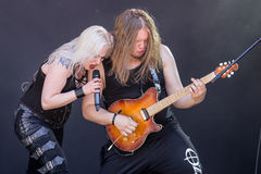 Battle Beast at Metalfest 2015 Stock Images