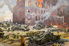 Battle of Berlin Royalty Free Stock Images
