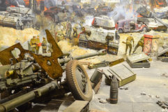 Battle of Berlin Royalty Free Stock Photo