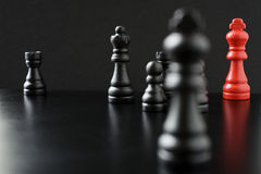 Battle of black Royalty Free Stock Image