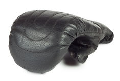 Battle black boxing glove Royalty Free Stock Images