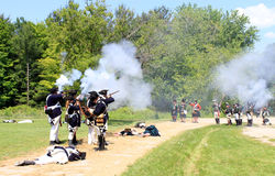 Battle of Black Creek Stock Photo