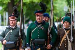 The battle of Black Creek Stock Photo