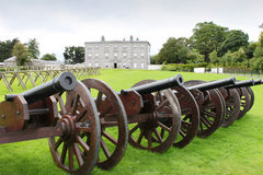 Battle of the Boyne Visitor Centre. The historic Battle of the Boyne, visitor centre in Ireland Royalty Free Stock Images