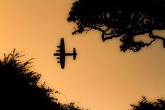 Battle of Britain B-17 Royalty Free Stock Image
