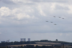 Battle of Britain Commemorative Flypast Stock Photos