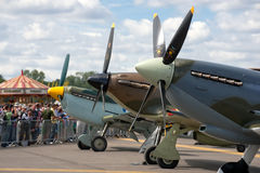 Battle of britain fighters Royalty Free Stock Photography