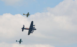 Battle of Britain flypast Stock Photo