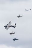 Battle of Britain Memorial Flight. The Battle of Britain Memorial Flight BBMF is a Royal Air Force flight which provides an aerial display group usually Stock Photo