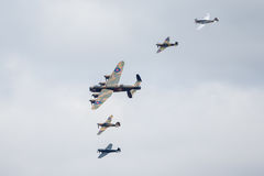 Battle of Britain Memorial Flight Royalty Free Stock Image