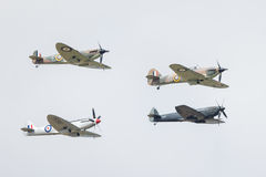 Battle of Britain Memorial Flight Royalty Free Stock Photos