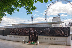 The Battle of Britain Memorial Stock Image