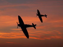 Battle of Britain Royalty Free Stock Photos